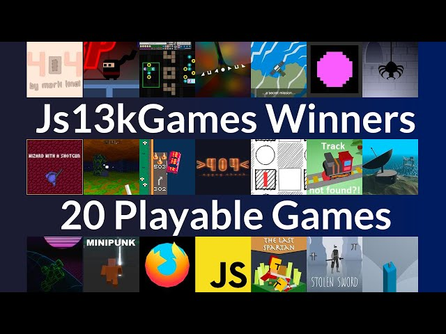 20 Award-Winning JavaScript Games – Js13kGames 2020 Winners