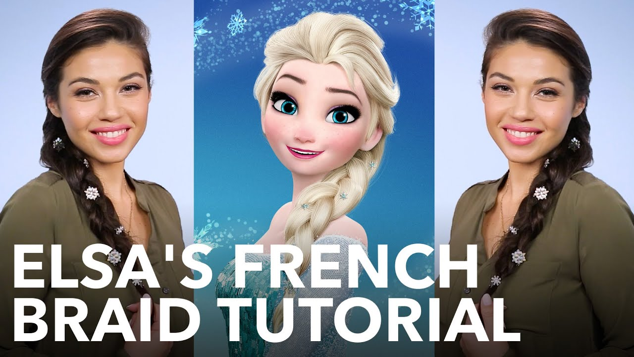 How To Get Elsa's Perfectly Loose French Braid