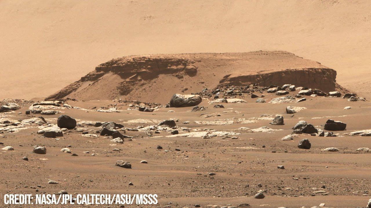 So detailreich haben wir den Mars noch nie gesehen - Neues Foto Rover Perseverance - 03.03.2021