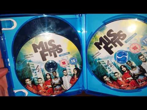 Misfits Complete Series 1-5 UK Blu ray