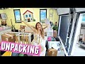 UNPACKING MY ROOM & STUDIO!🏠 Moving in vlogs.
