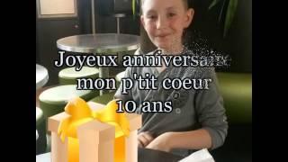 Montage Vidéo Kizoa: Joyeux anniversaire mon fils