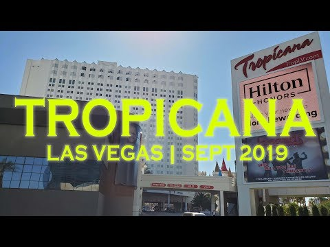 Tropicana Las Vegas Casino Hotel Resort Sept 2019 Walkthrough