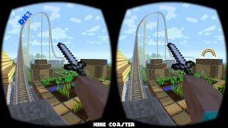 Mine Coaster - Oculus Rift DK2