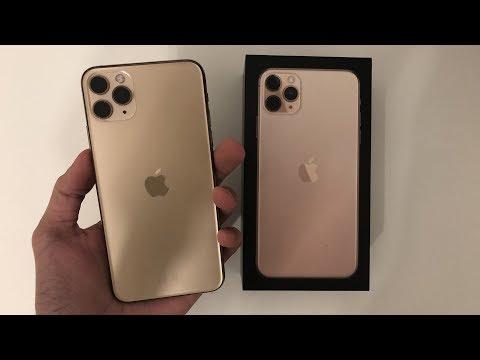 Распаковка IPhone 11 Pro Max Gold. Лучший IPhone всех времен?