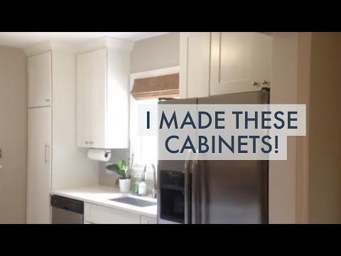 DIY Kitchen Renovation — I Make My Own Cabinets!