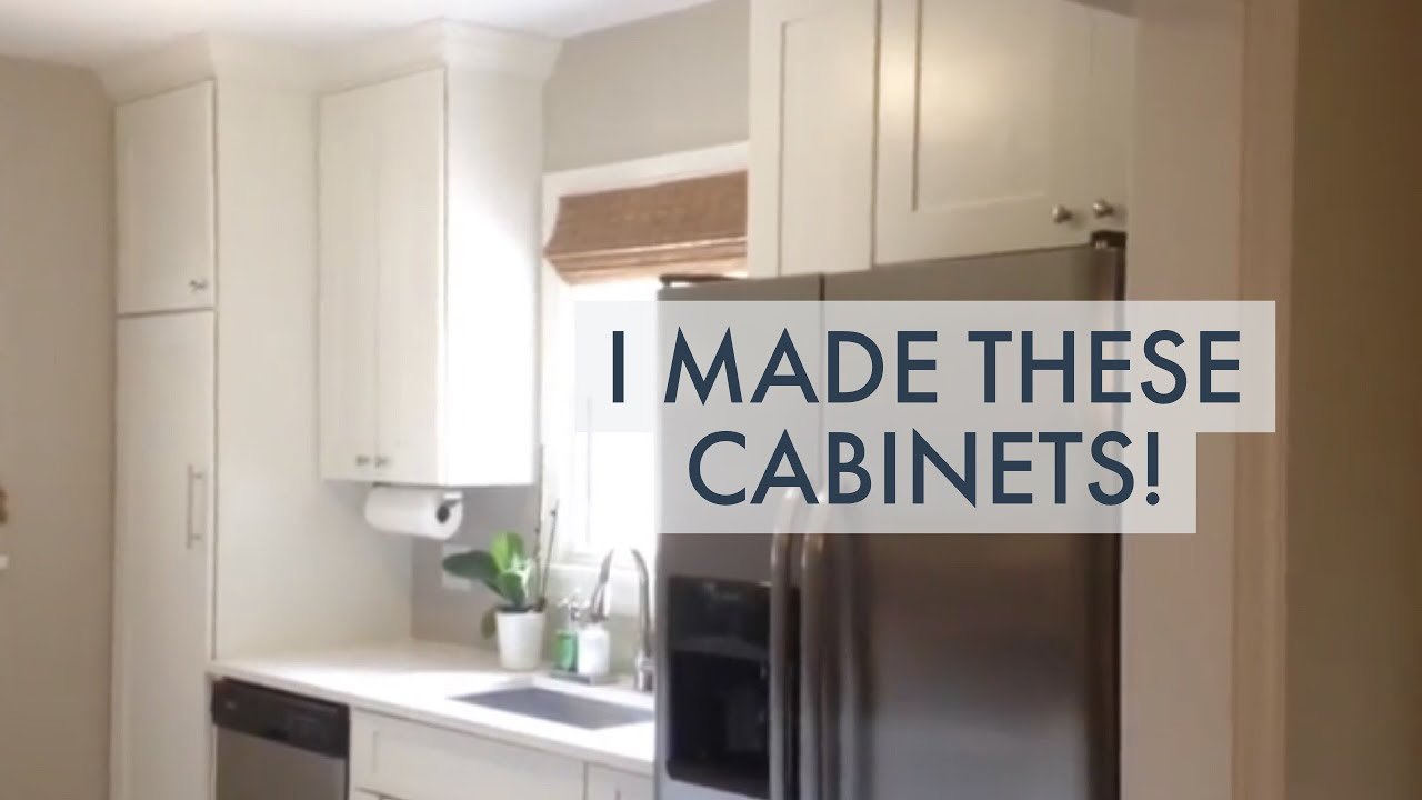 Diy Kitchen Renovation I Make My Own Cabinets You