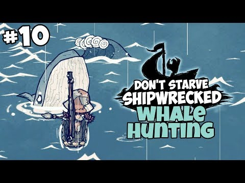 Wigfrid's First Coffee & Whale Hunting - Don't Starve: Shipwrecked Gameplay - Part 10
