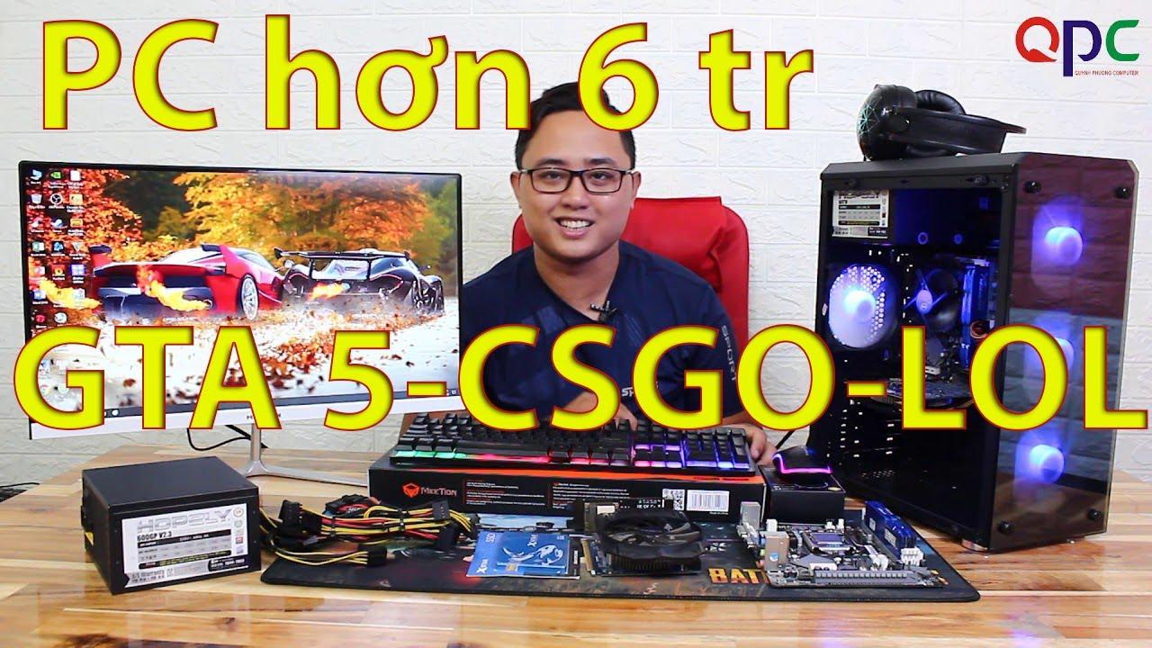 FULL BỘ PC GAMING CŨ GIÁ 6TR590K