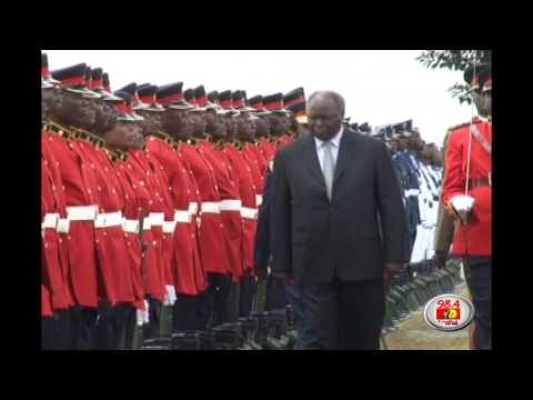 Kenya's military bids Kibaki farewell