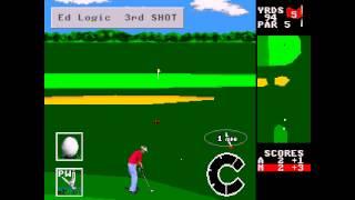 World Class Leaderboard Golf ... (Sega Genesis)