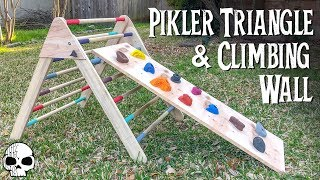 How to make a DIY Kids Wooden Climber (Pikler Triangle)