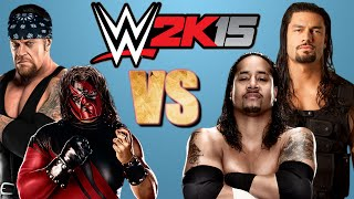 WWE 2K15: Jimmy Uso & Roman Reigns VS The Brothers Of Destruction [FR//HD]