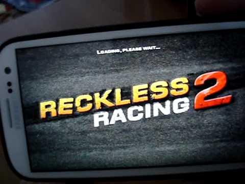 Обзор игры Reckless Racing 2 на Samsung Galaxy S3