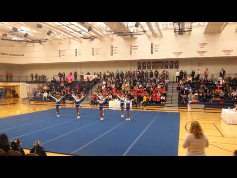 Imlay City Middle School Competitive Cheer - Round 1