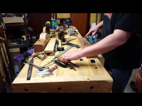 Making a Double Iron Jack Plane - Part 17 - Cutting the Handle Mortise