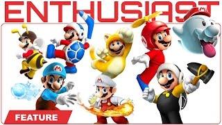 The History of Mario