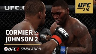 UFC 210 | EA SPORTS UFC 2 Simulation – Cormier vs Johnson 2