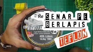 Senar Pancing PE Relix FANTASTIC 8 With DuPont Teflon 720 25 5 01