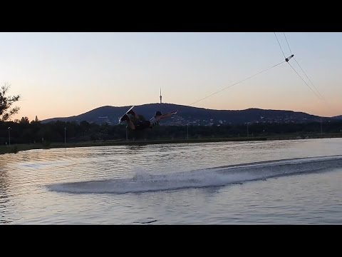 Cable wakeboard raley