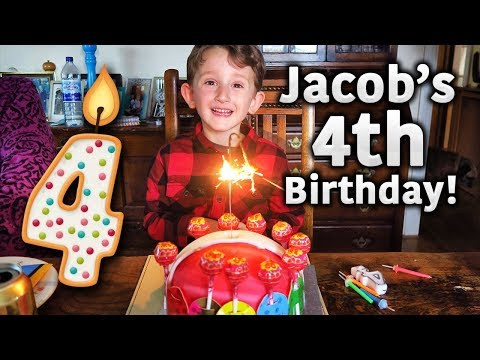 JACOB'S 4TH BIRTHDAY!