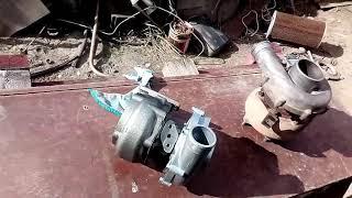 Новая турбина и тнвд на ремонт