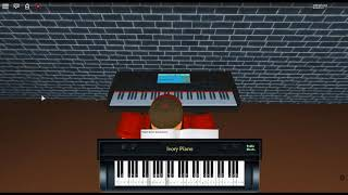 La Pavane in F# Minor Opus 50 by: Gabriel Gabriel Fauré on a ROBLOX piano.