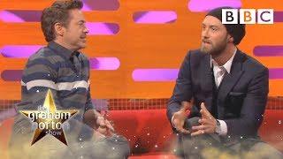 Robert Downey Jr. & Jude Law talk Sherlock | The Graham Norton Show - BBC