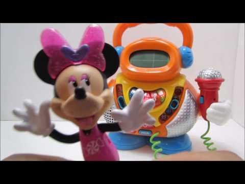 Hickory Dickory Dock | Nursery Rhymes with Minnie Mouse and Karaoke Toy