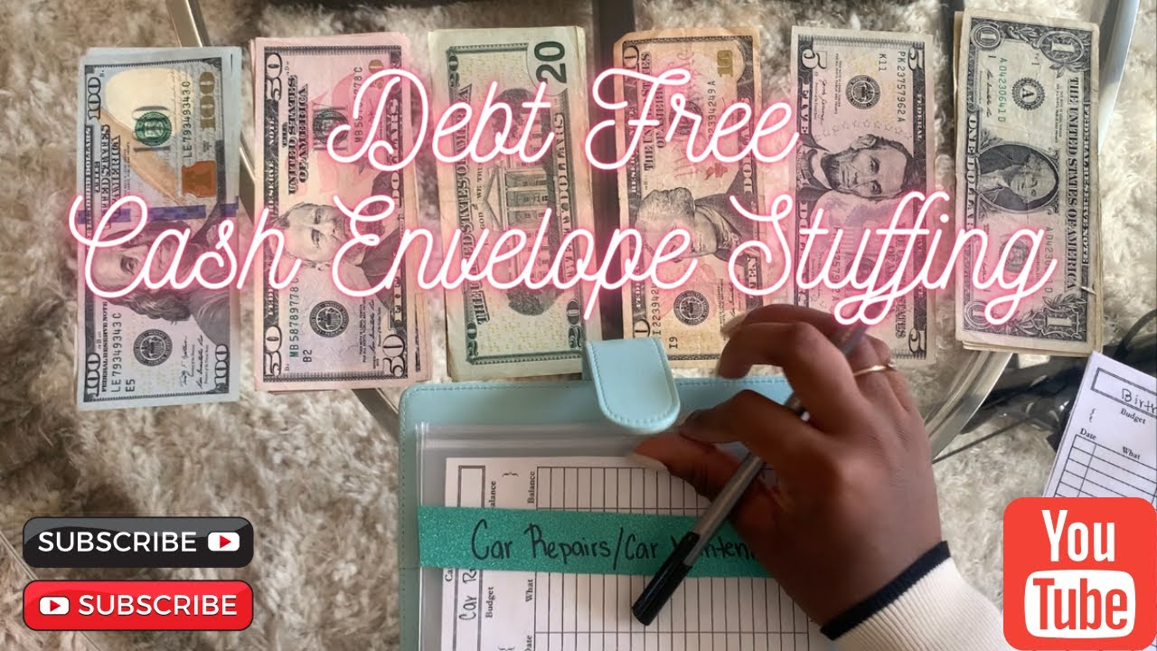 Cash Envelope Stuffing for Beginners (First Cash Envelope Stuffing Since Being DEBT FREE)