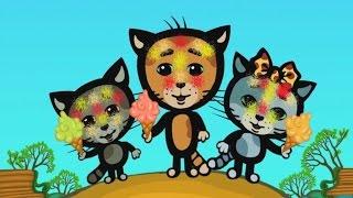 Мультики для малышей - Три котенка - Кто твои родители (4 сезон | серия 1)