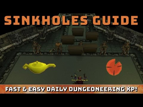 Sinkholes Guide [Runescape 3] Easy & Fast Dungeoneering xp Daily