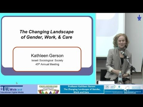 The Changing Landscape of Gender, Work & Care