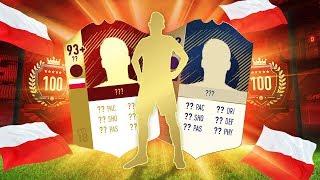 Paczka z 44 IF + IKONĄ za TOP 100! CO ZA TRAF 90+! PIĘKNA HISTORIA!   FIFA 18