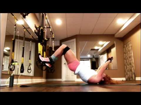 TRX Freestyle Friday - TRX Double Banded Hamstring Curl/Hip Lift Combo with Hip Adduction