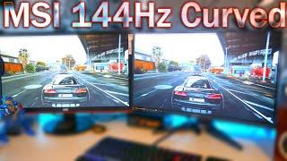 Buy MSI - Optix MAG240VC 23 6 LED Curved FHD FreeSync