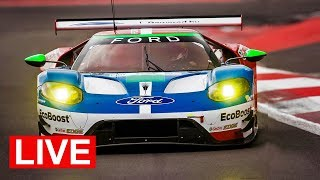 2018 Le Mans 24 Hour LIVE! - Ford GT Onboards, Race Timing and Commentary