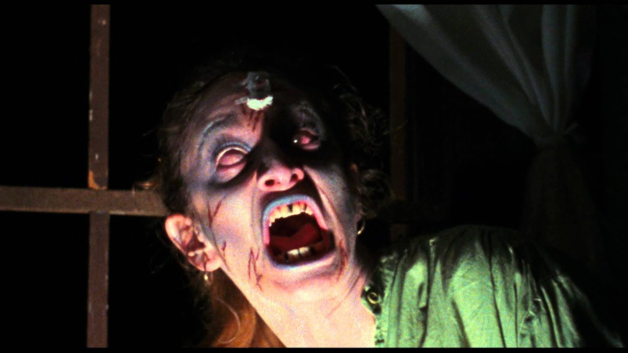 The Evil Dead (1981) Best Scenes: Cheryl is Possessed - YouTube