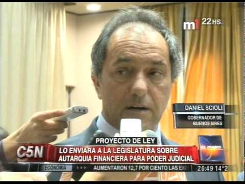 C5N - JUSTICIA: BUSCAN LA AUTARQUIA FINANCIERA PARA EL PODER JUDICIAL