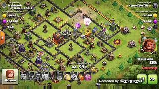 Clash of Clans,мое первое видео😁Как говорится первый блин комом)Атака на 10 тх и не много про клан!