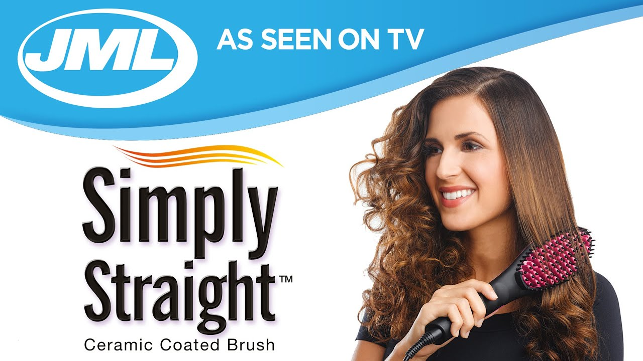 hair styling brush as seen on tv simply from jml 8997