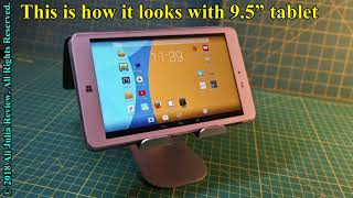 Tablet Stand Adjustable by RYYMX ( product review )