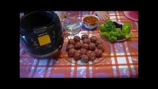Домашние видео рецепты - тефтели с рисом в мультиварке