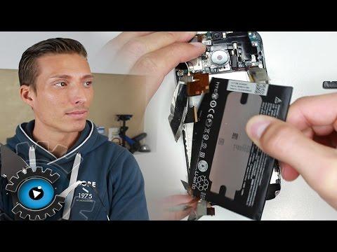 HTC One M8 Akku Welchseln Tauschen unter 30€ Reparieren [Deutsch]