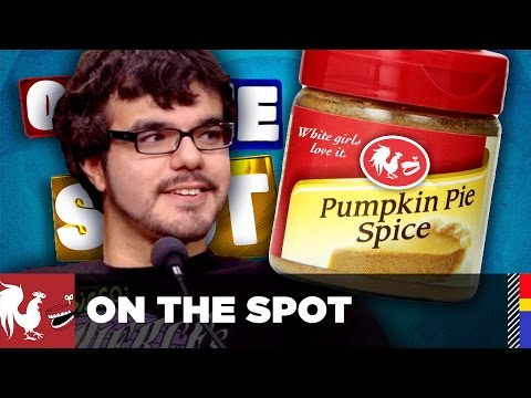 On The Spot: Ep. 37 - Ray Narvaez Jr. & The White Girl Challenge | Rooster Teeth