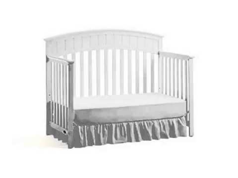 New Graco Charleston Convertible Crib White Product