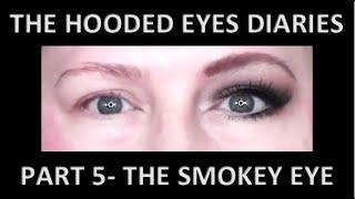 SMOKEY EYE LOOK FOR HOODED EYES | SMOKEY EYE SHADOW TUTORIAL| SMOKEY EYE TUTORIAL | SMOKEY EYE LOOK