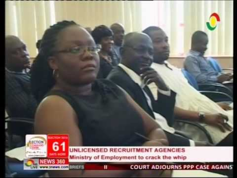 Ministry of Employment orders shutdown of all unlicensed recruitment agencies - 6/10/2016