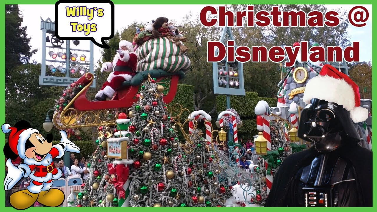 2016 disneyland christmas party star wars darth vader jedi training goofy mickey mouse willys toys - Mickeys Christmas Party Disneyland