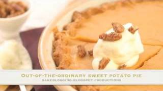 Southern Sweet Potato Buttermilk Pie